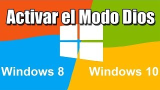 Acceder al modo Dios | Windows 10 y Windows 8.1 (god mode)