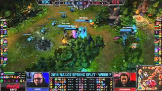 LCS 2014 NA Spring W7D2 + NA Challenger Spring 2: Play-In