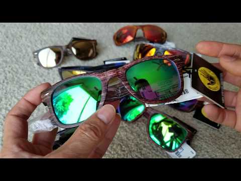 Unboxing (8) BODY GLOVE Sports Sunglasses 100% UVA UVB Protection! 7 8 18