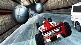 car games - Speed Bump Car Crash Simulator Beam Damage Drive - car game for kids - game for kids