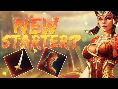 Serqet: IS THIS THE NEW STARTER ITEMS!? - Smite