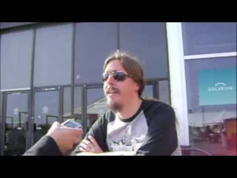 Opeth (Mikael Akerfeldt) - Interview with The Red Switch 1 of 4