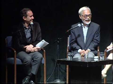 Hayao Miyazaki in Conversation with Roland Kelts
