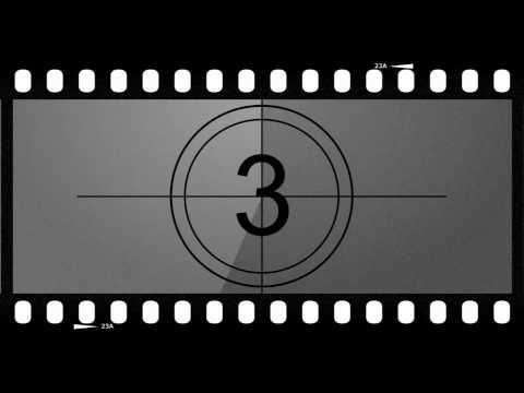 Old Movie Countdown Timer video