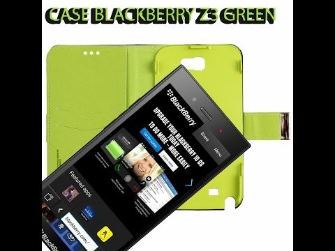 Blackberry Z3 Green case Review [Official Video]