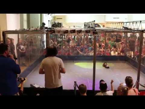 ROBOWARS 2014 – MentalBot v Demon – Australian National Championships Final
