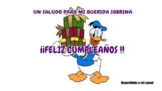 Cumpleaños Feliz  Feliz Cumpleaños Querida Sobrina