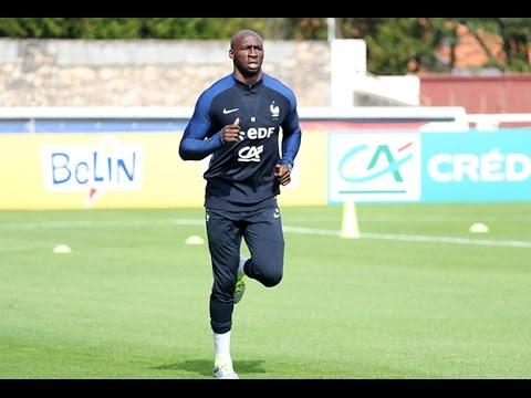 Test physique pour l'Equipe de France