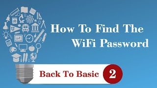 How To Find The WiFi Password