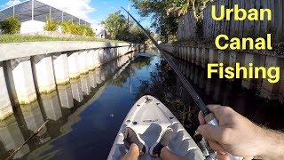 Urban Canal Fishing!!!