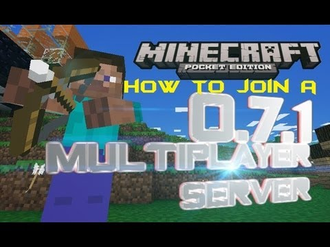 How To Join Realms in Minecraft PE 0.7.1 [IOS and ANDROID]