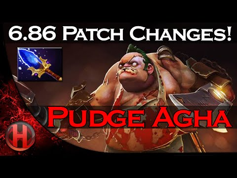 6.86 Patch Changes Dota 2 - Pudge Aghanim's Scepter Update!