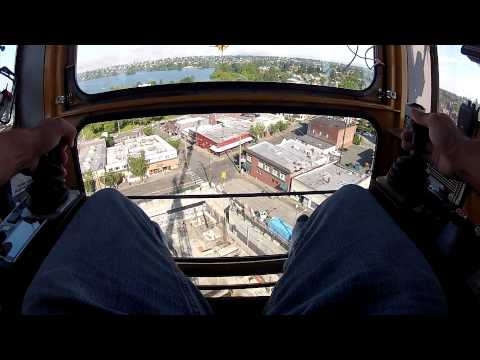 How to Operate a Tower Crane - Rebar Column