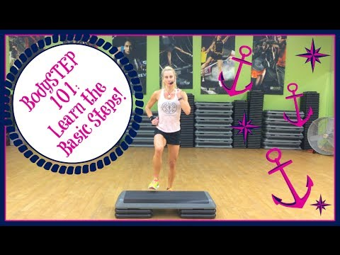 Les Mills BodySTEP 101: Learn the Basic steps!