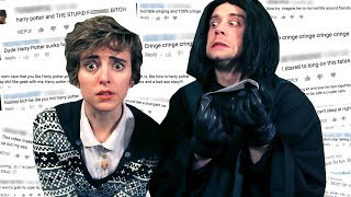 Snape Reads My Hate Comments ft. Joe Moses