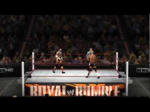 WWE ROYAL RUMBLE 2012 FULL PPV! - WWE '12 LIVE
