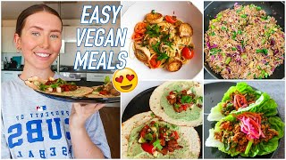 WHAT I EAT IN A WEEK - 8 Easy & Delicious Vegan Meals! | Hannah Renée