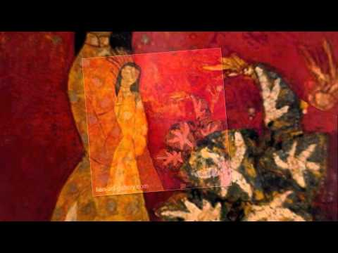 Lacquer by South East Asia artist of Vietnam painting art gallery- namh1-18