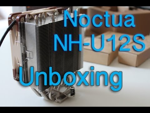 Noctua NH-U12S Unboxing German / HD