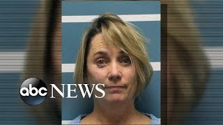 Teacher arrested after cutting student
