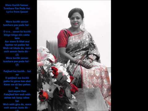 Mera kuch saman Izzazat film with karaoke