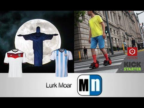 LM 090714 - Patines Motorizados, #ArmsWideOpen, LEGOs ambientalistas, El Mundial en Twitter