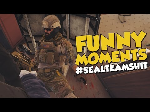 Rainbow Six Siege Funny Moments - #SealTeamShit + Monthly Giveaway