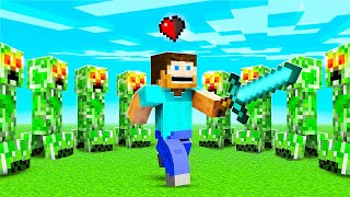 Minecraft Hardcore But The Video Ends When I Die!