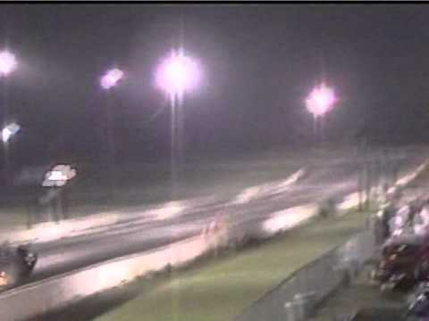 JMS Mustang Wreck at the Dragstrip (Overpowered Mustang Crash, Wheelie gone bad drag race)