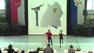 Elisabeth Bertz & Paul Jung - Ländle Cup 2015