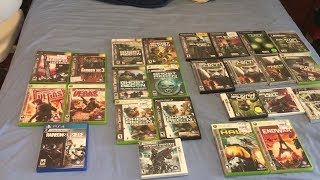 Tom Clancy Game Collection (Ghost Recon, Rainbow Six, Splinter Cell, etc)