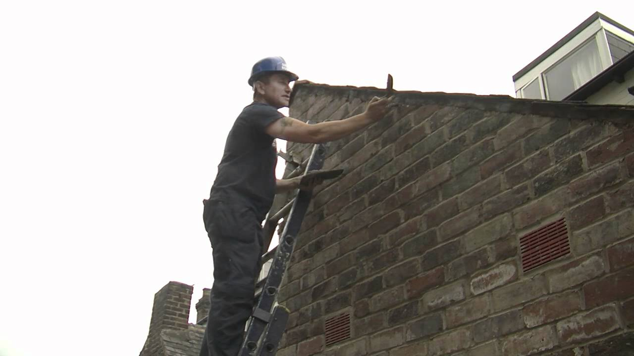Pointing A Verge Dalton Roofing Youtube