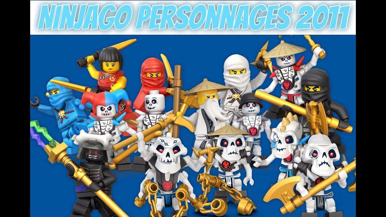 Ninjago Personnages 2011