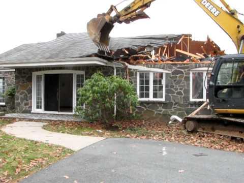 House Demolition Part 2: The House