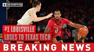 #1 Louisville goes down, lose for the first time this season to unranked Texas Tech | CBS Sports HQ