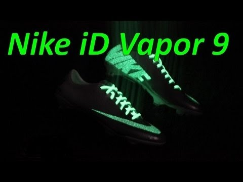 Nike iD Mercurial Vapor 9 IX Glow in the Dark - Unboxing + On Feet