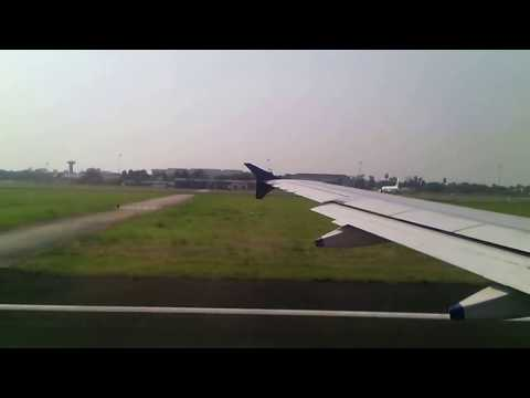 Takeoff From Calcutta Airport Airbus A320 Clear skies Great Weather Some crosswinds!Indigo Airlines