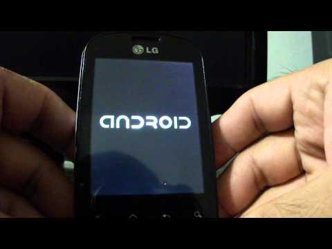 LG Optimus ME P350 / Hard Reset - Formateo