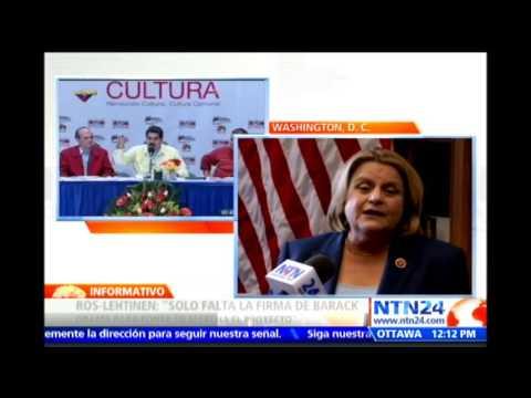 Ileana Ros-Lehtinen explica qué sanciones que EE.UU. impondrá sobre funcionarios venezolanos