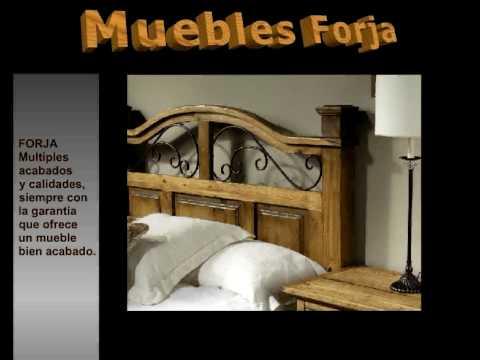 Muebles forja mesas forja cabeceros forja - Muebles de la fabrica ...