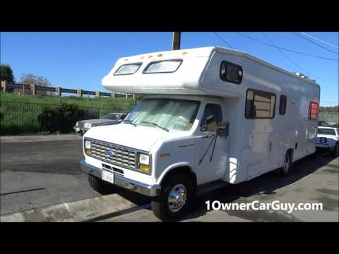 Buy a Class C Motorhome RV ~ Low Mile For Sale