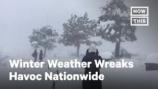 Winter Weather Wreaks Havoc Across U.S., Killing At Least 9 | NowThis