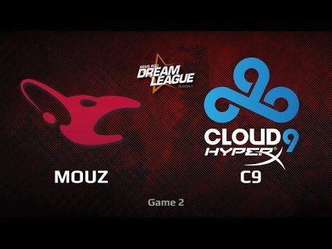 Mouz vs C9, DreamLeague WB Semifinals, Game 2
