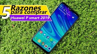 5 Razones para comprar Huawei p smart 2019 | Tecnocat