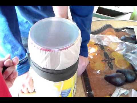 Tambor de tarro youtube for Como construir pileta de material