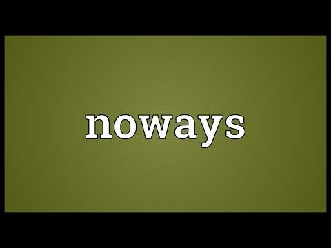 Header of Noways