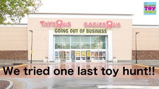 Toy Hunt Target And Toys R Us One Last Time New Vlog | PSToyReviews