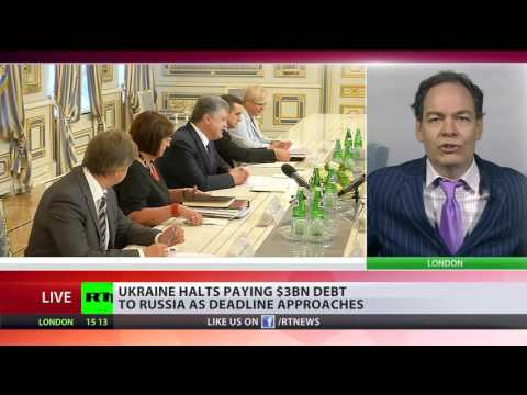 Ukraine defaults on $3bn Eurobond to Russia - Max Keiser comments