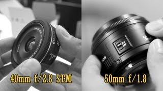 Canon 40mm STM