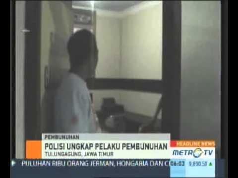 Pembunuhan Siswi SMP di Tulungagung Terungkap